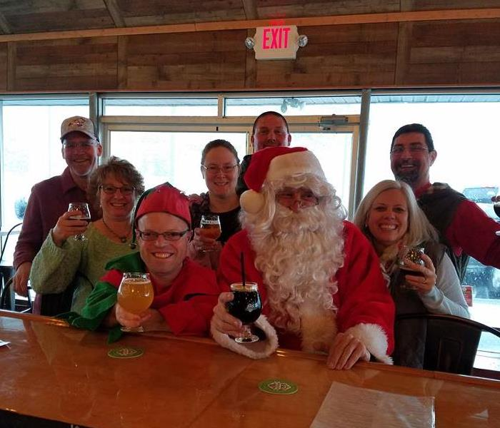 Community Santa visits Schaylor's local brewery